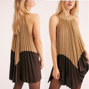 NWT Free People 'Pleated Love Mini Dress'